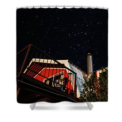 Stars Over Gila Cottage Shower Curtain