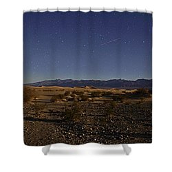 Stars Over The Mesquite Dunes Shower Curtain