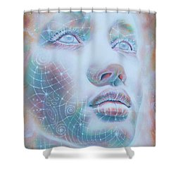 Starseed Shower Curtain