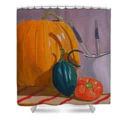 Start Of Fall Shower Curtain