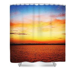 Sunset Serenade  Shower Curtain