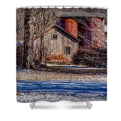 Shower Curtain featuring the photograph Starting To See Red by Kendall McKernon