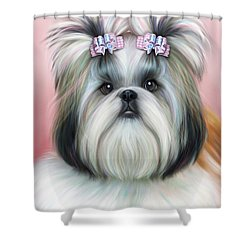 Stassi The Tzu Shower Curtain