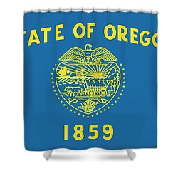 State Flag Of Oregon Shower Curtain