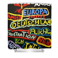 State Of Europe Shower Curtain
