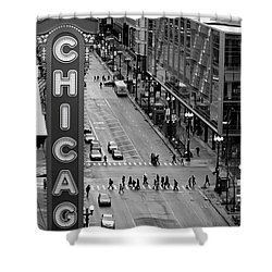 State Street Shower Curtain by Lauri Novak