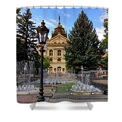 State Theater In The Old Town, Kosice, Slovakia Shower Curtain
