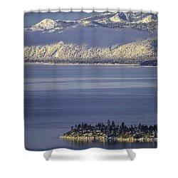 Stateline Point Shower Curtain