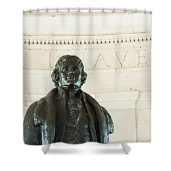 Stately Profile Shower Curtain
