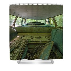 Station Wagon In Color Shower Curtain
