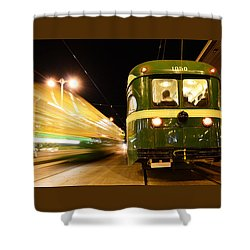 Stationary Shower Curtain