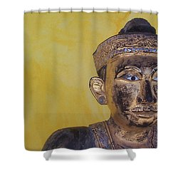 Shower Curtain featuring the photograph Statue by Mary-Lee Sanders