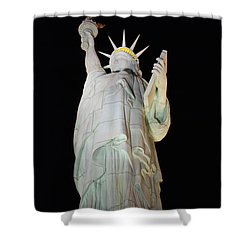 Statue Of Liberty.... Not Shower Curtain