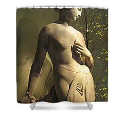 Statuesque Shower Curtain by Jessica Jenney