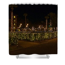 St.augustinelights1 Shower Curtain