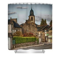 St.coulomb Shower Curtain