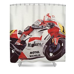 Steady Eddie Shower Curtain