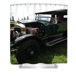Steam Car Shower Curtain
