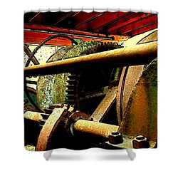 Steam Donkey Shower Curtain