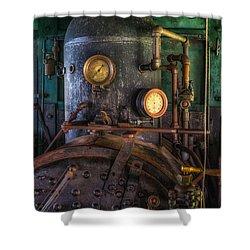 Steam Engine Shower Curtain