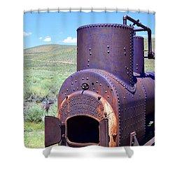Steam Generator Shower Curtain