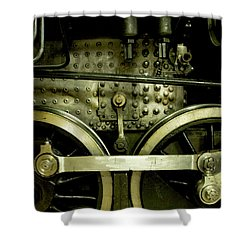 Steam Power I Shower Curtain by Theresa Tahara