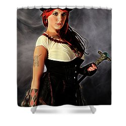 Steam Punker Shower Curtain
