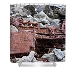 Steam Shovel Number One Shower Curtain