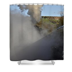 Steam Steam Steam Shower Curtain