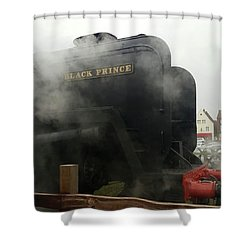 Steam Train At Sheringham Shower Curtain