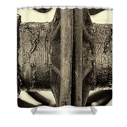 Shower Curtain featuring the photograph Steam Train Series No 31 by Clare Bambers