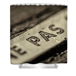 Shower Curtain featuring the photograph Steam Train Series No 35 by Clare Bambers
