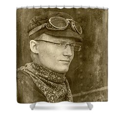 Shower Curtain featuring the photograph Steam Train Series No 37 by Clare Bambers