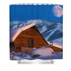Steamboat Dreams Shower Curtain