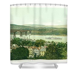 Steamers Waterfront And Ferrys - 07 Shower Curtain