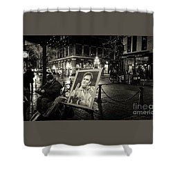Steamin' Johnny Shower Curtain