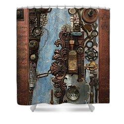 Steampunk 1 Shower Curtain