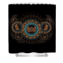 Steampunk Butterfly  Shower Curtain