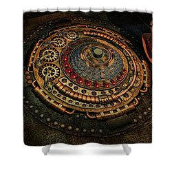 Shower Curtain featuring the photograph Steampunk by Louis Ferreira