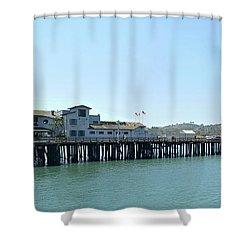 Stearns Wharf 2 Shower Curtain