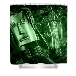Steel Jelly Shower Curtain