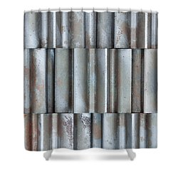 Steel Shower Curtain