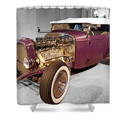 Steele Roadster Shower Curtain