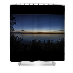 Steelworkers Park View At Dawn Shower Curtain