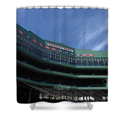 Steeped In History Shower Curtain by Paul Mangold