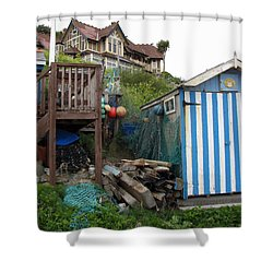 Steephill Cove Shower Curtain