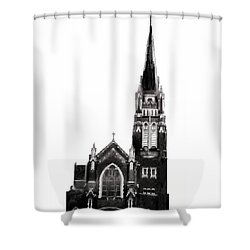 Steeple Chase 1 Shower Curtain by Sadie Reneau