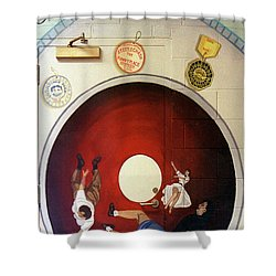 Steeple Chasetunnel Of Love Shower Curtain