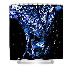 Steer Head Shower Curtain by Aliceann Carlton