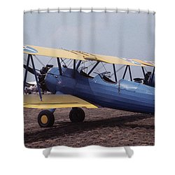 Steerman Shower Curtain